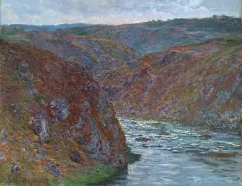 The Creuse - Claude Monet