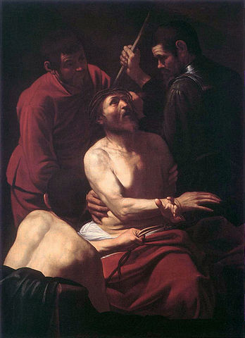Crowning with Thorns I - Caravaggio