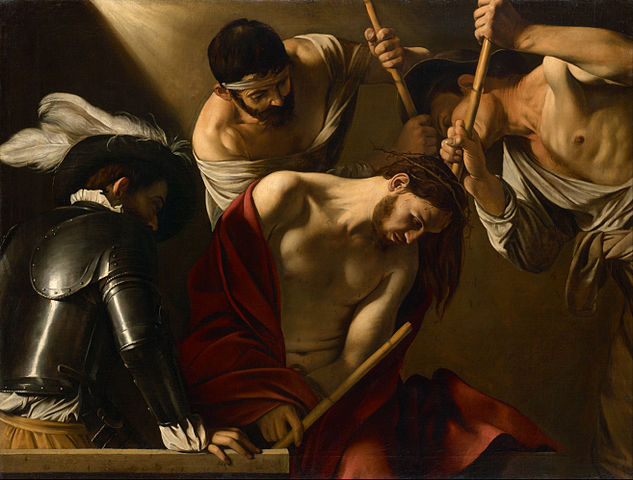 Crowning with Thorns II - Caravaggio