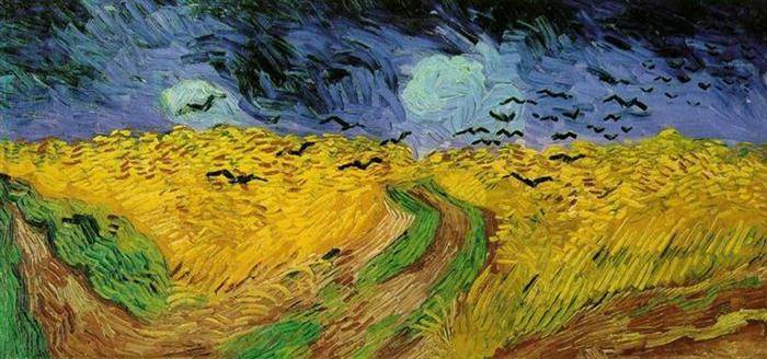 Crows in a Wheatfield - Vincent van Gogh