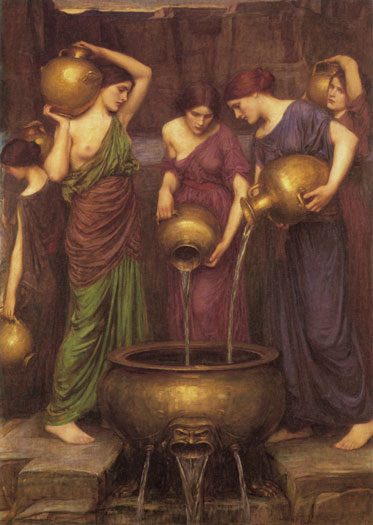 Danaides - John William Waterhouse