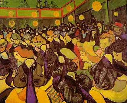 Dance Hall in Arles - Vincent van Gogh