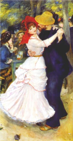 Dance at Bougival - Pierre Auguste Renoir