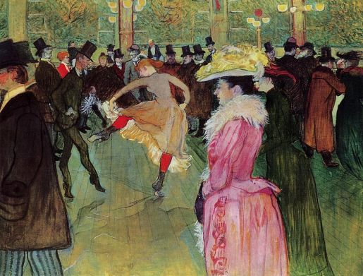 The Dance at Moulin Rouge - Henri de Toulouse Lautre