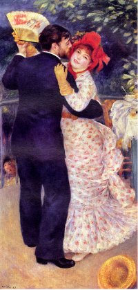 Dance in the Country - Pierre Auguste Renoir