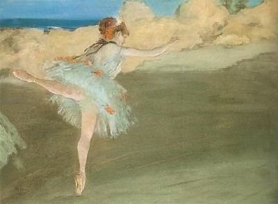 Dancer On Point - Edgar Degas