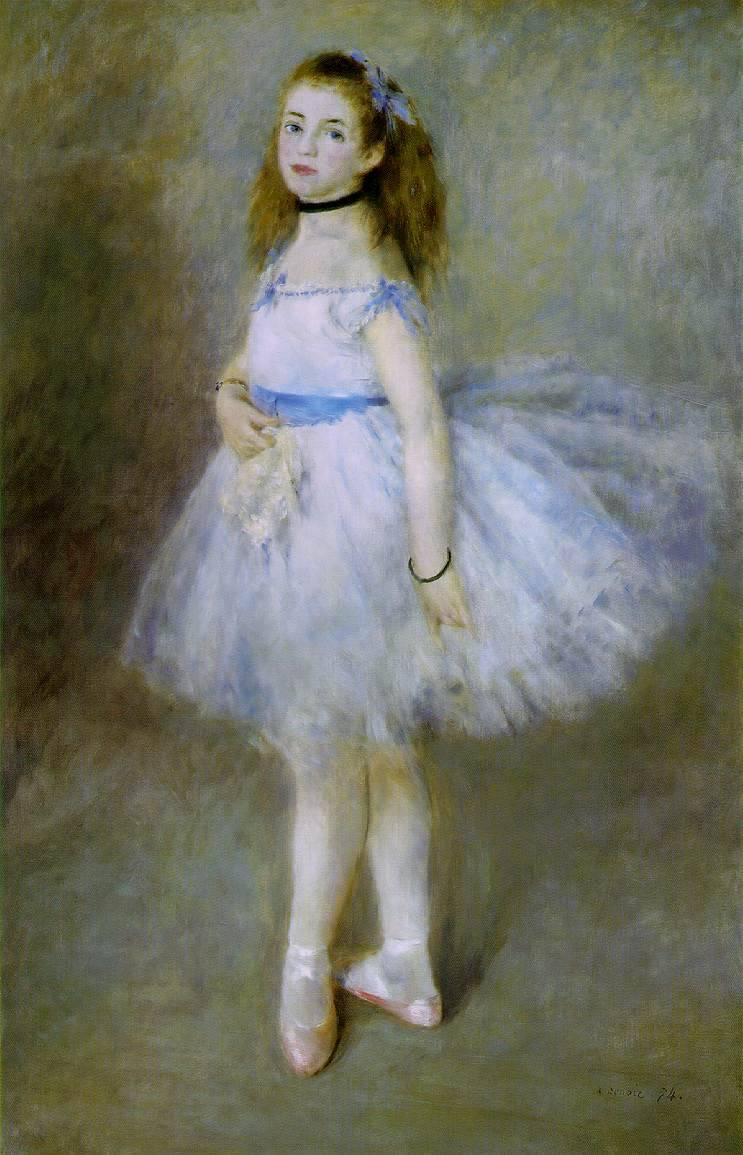Dancer - Pierre Auguste Renoir