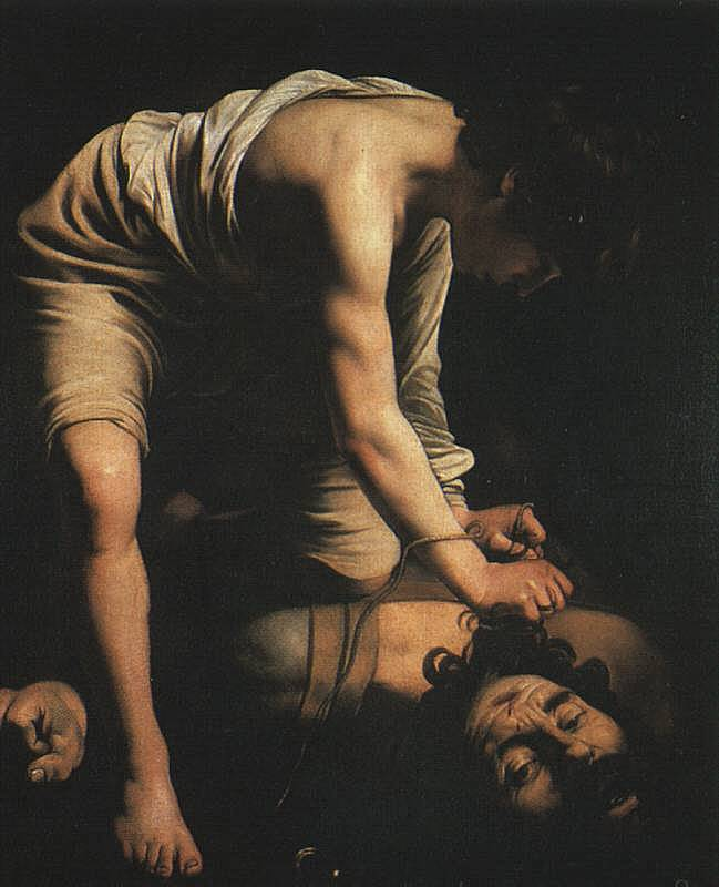 David and Goliath - Caravaggio