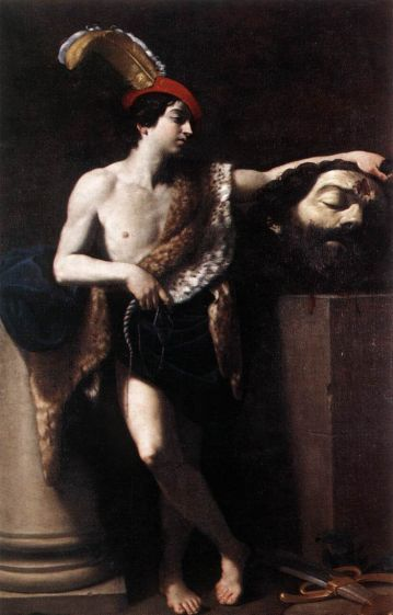 David with the Head of Goliath - Guido Reni