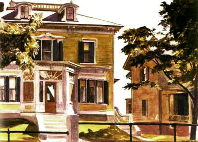 Davis House - Edward Hopper