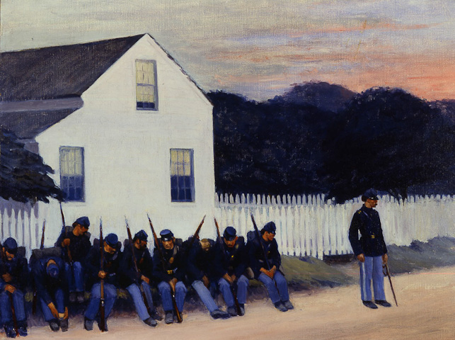 Dawn Before Gettysburg - Edward Hopper