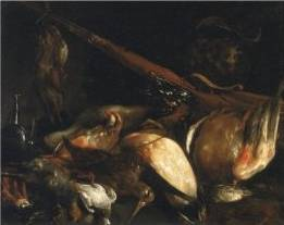 Dead Birds and Arquebus - Jose de Ribera