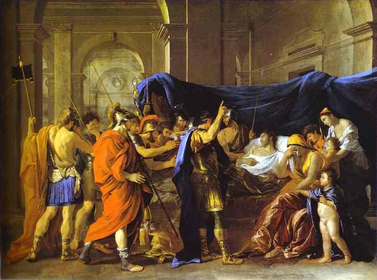 Death of Germanicus - Nicolas Poussin