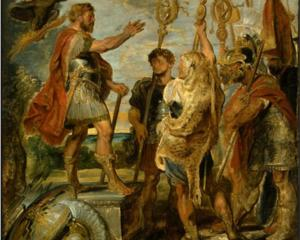 Decius Mus Addressing the Legions - Peter Paul Rubens