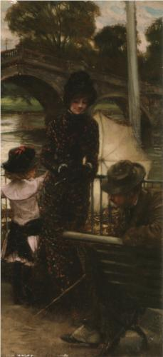 Declaration of Love - James Tissot