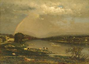 Delaware Water Gap - George Inness