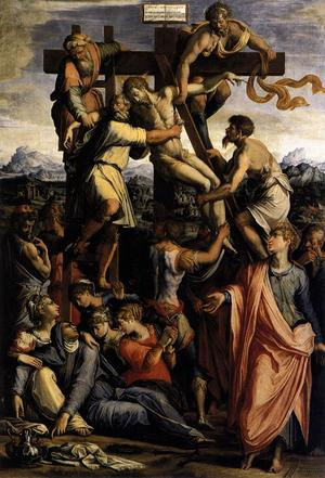 Deposition from the Cross - Giorgio Vasari