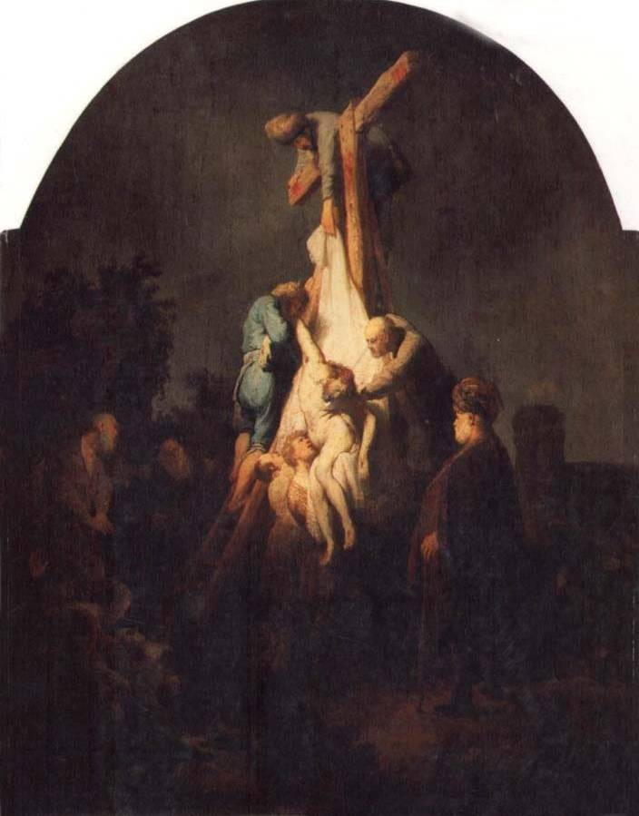 Descent from the Cross - Rembrandt van Rijn