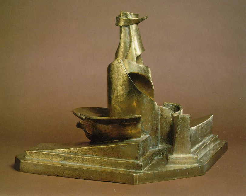 Development of a Bottle in Space - Umberto Boccioni