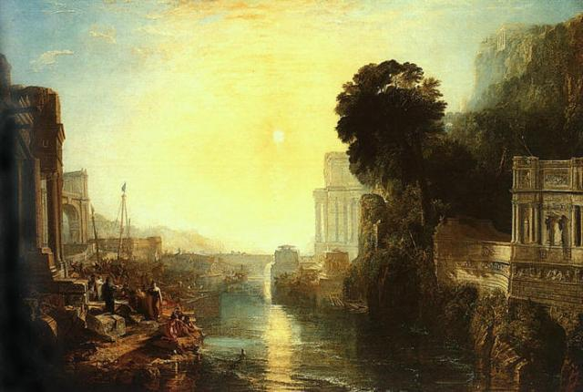 Dido Building at Carthage - Joseph Mallord William Turner