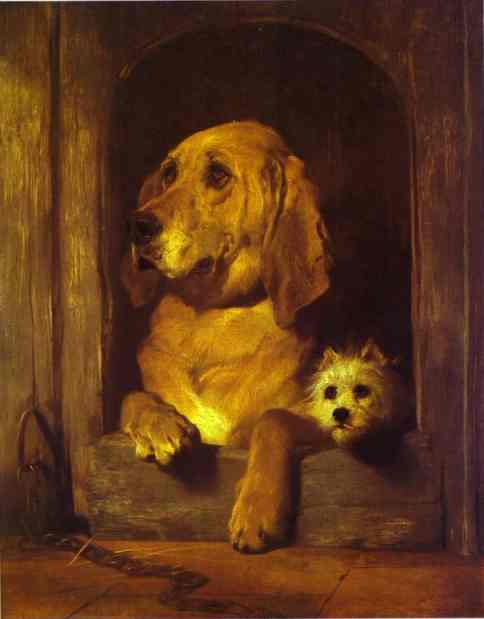 Dignity and Impudence - Edwin Henry Landseer