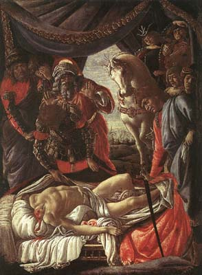 Discovery of the Murder of Holophernes - Sandro Botticelli