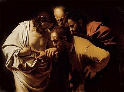 Doubting Thomas - Michelangelo Merisi da Caravaggio
