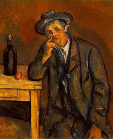 Drinker - Paul Cezanne