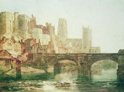 Durham Cathedral - Joseph Mallord William Turner