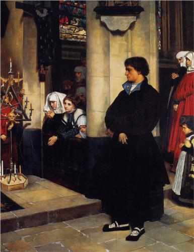 During the Service - James Tissot