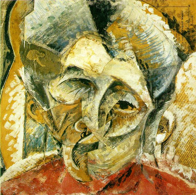 Dynamism of a Woman's Head - Umberto Boccioni