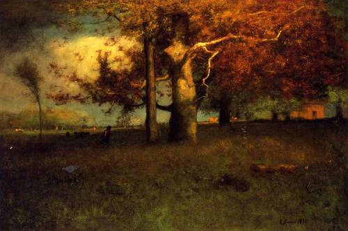 Early Autumn Montclair - George Inness