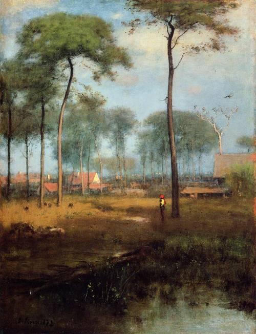Early Morning Tarpon Springs - George Inness