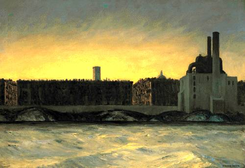 East River - Edward Hopper