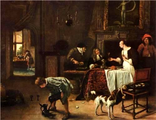Easy Come, Easy Go - Jan Steen
