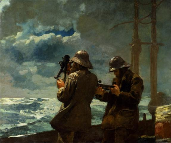 Eight Bells - Winslow Homer