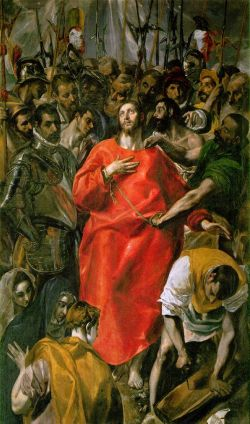 El Espolio (Christ Stripped of His Garments) - El Greco