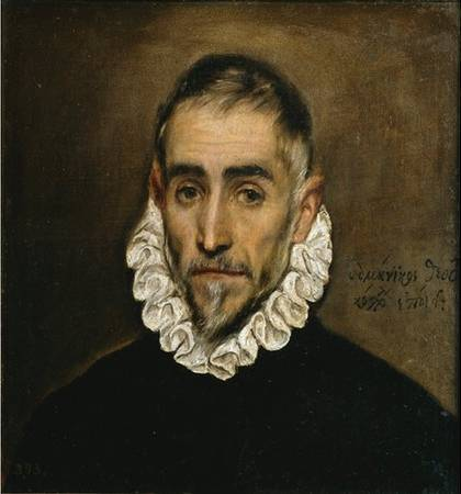 Elderly Gentleman - El Greco