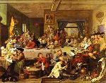 Election Entertainment - William Hogarth