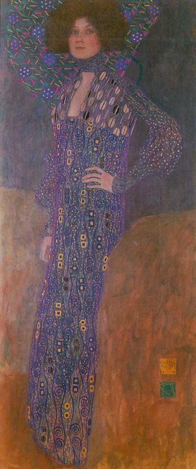 Emilie Flöge - Gustav Klimt