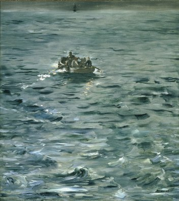 Escape of Rocherfort - Edouard Manet
