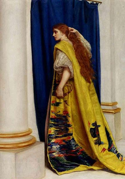 Esther - John Everett Millais
