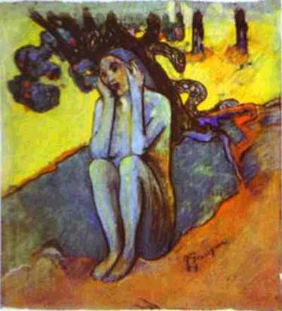Eve Don't Listen the Lair - Paul Gauguin
