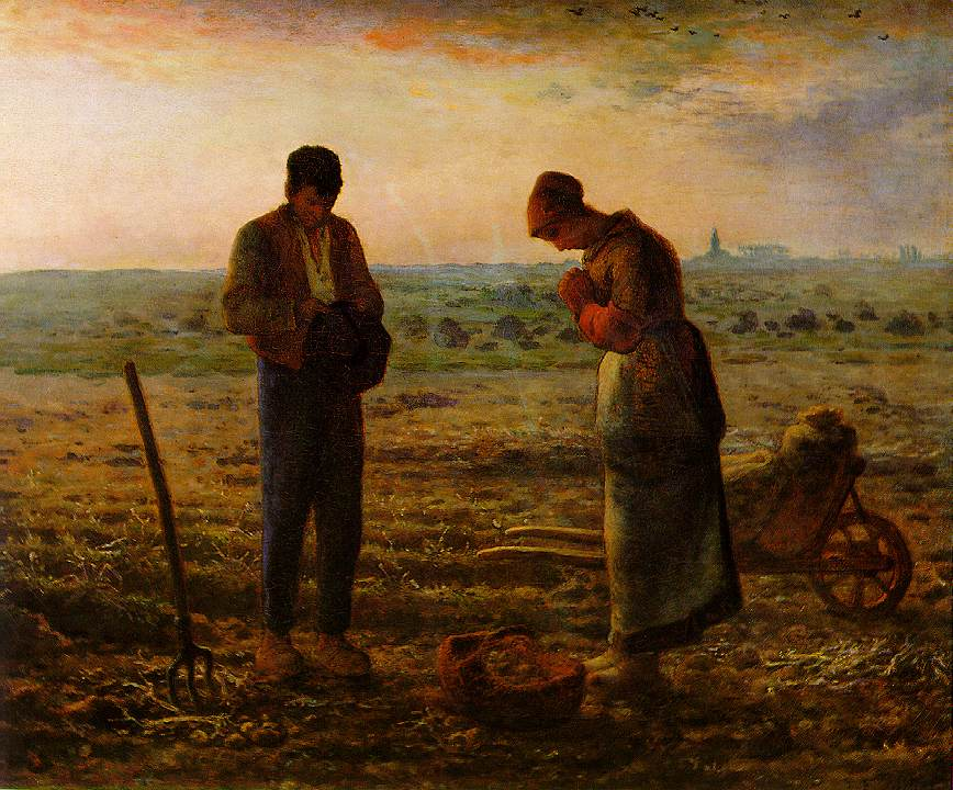 The Evening Prayer (The Angelus) - Jean Francois Millet