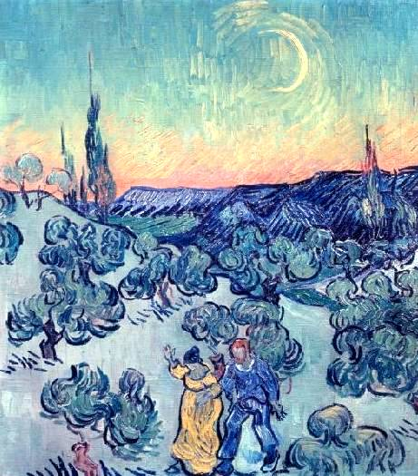 Evening Stroll - Vincent van Gogh