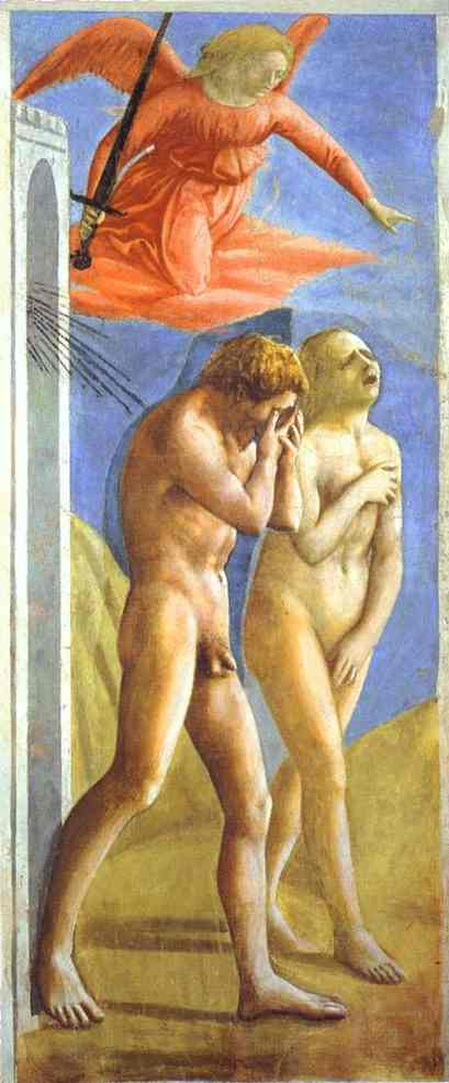 Expulsion from Paradise - Masaccio