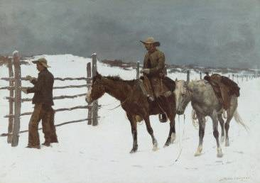Fall of the Cowboy - Frederic Remington