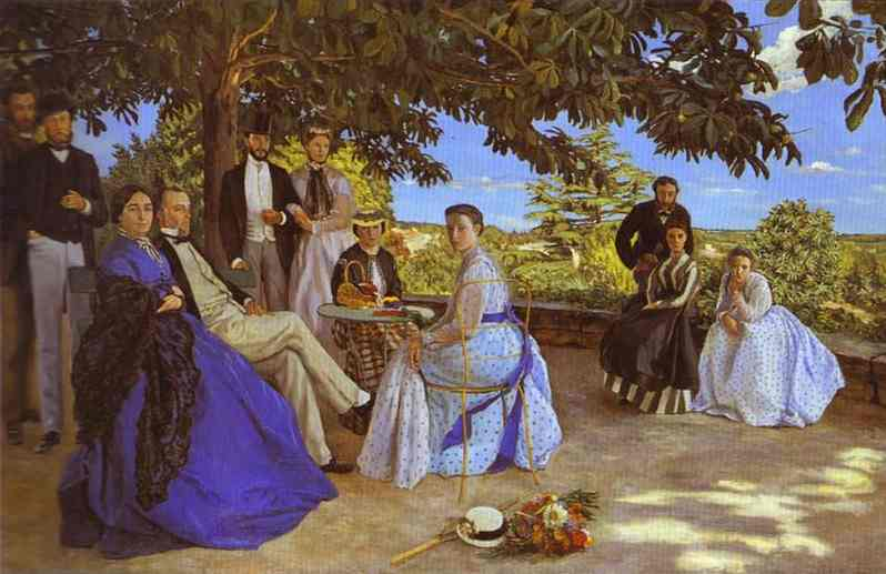 Family Reunion - Frederic Bazille