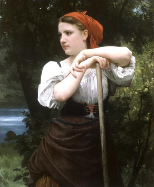 Faneuse - William Adolphe Bouguereau