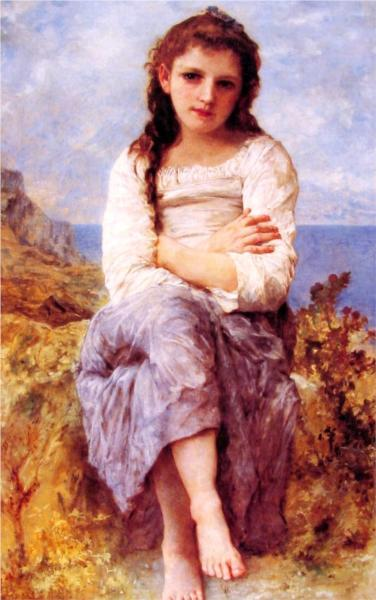 Far Niente - William Adolphe Bouguereau